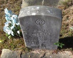 Amos S McCoy