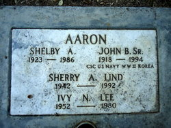 Shelby A <i>Copping</i> Aaron
