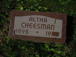 Altha L. Alpha <i>Hummer</i> Cheesman