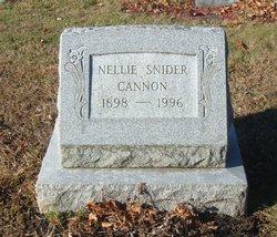 Nellie <i>Snider</i> Cannon