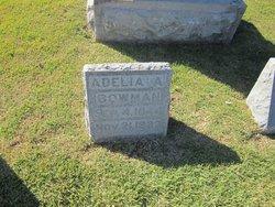 Adelia Ann <i>Rayder</i> Bowman