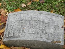 Mabel A <i>Dean</i> Bayer