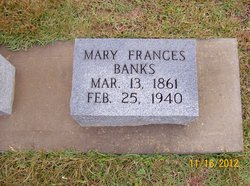 Mary Frances Banks
