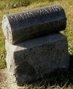 Mary V. Mamie Watry
