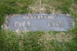 Gladys Marcella <i>Walker</i> Evrley