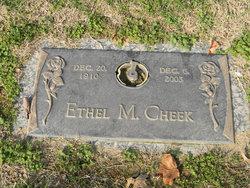 Ethel Mae <i>Carter</i> Cheek