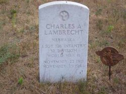 Charles A Lambrecht