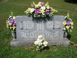 Rev Ralph F. Matheson