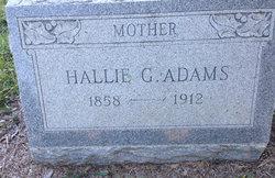 Hallie <i>Gause</i> Adams