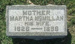 Martha <i>McMillan</i> Burkholder