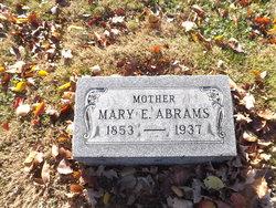 Mary E. <i>Nixon</i> Abrams