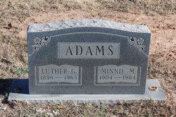 Minnie May <i>Power</i> Adams