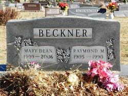 Mary Dean <i>Nevins</i> Beckner
