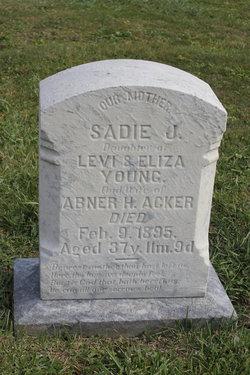 Sadie J. <i>Young</i> Acker