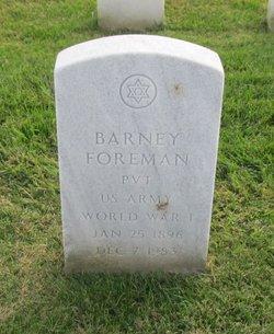 Barney Foreman