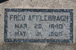 Friederick Fred Afflerbach
