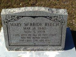 Mary <i>McBride</i> Beech