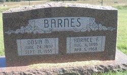 Dosia McDaniel Barnes