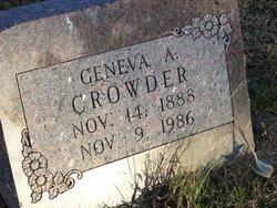 Geneva <i>Tschudy</i> Crowder