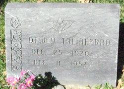 Sgt Dewey Taliaferro