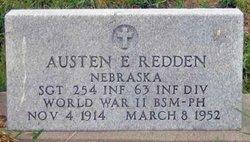 Sgt Austen Earl Redden, Jr