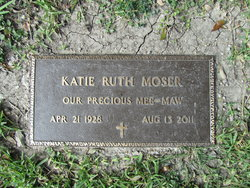 Katie Ruth <i>Davis</i> Moser