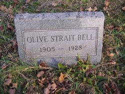 Olive Virginia <i>Strait</i> Bell