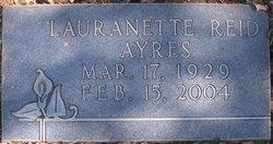 Lauranette <i>Reid</i> Ayres