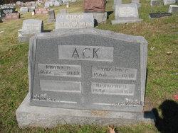 Edward Clyde Ack