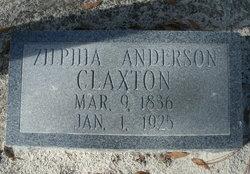 Zilphia <i>Anderson</i> Claxton