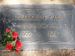 Frances Pricie <i>Blankenship</i> Cain