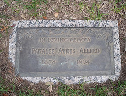 Paralee <i>Ayres</i> Allred