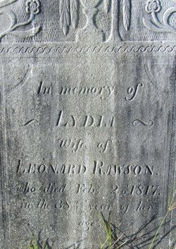 Lydia <i>Hitchcock</i> Rawson