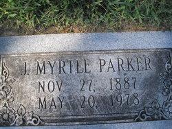 Julia Myrtle <i>McCain</i> Parker