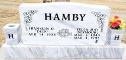 Zella May <i>Seymour</i> Hamby