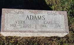 Vyril Georgia <i>Applegate</i> Adams