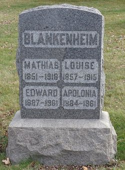 Louise <i>Burghardt</i> Blankenheim