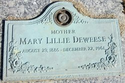 Mary Lillie DeWeese