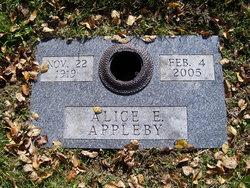 Alice E <i>Cunningham</i> Appleby