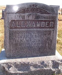 Elizabeth <i>Barclay</i> Alexander