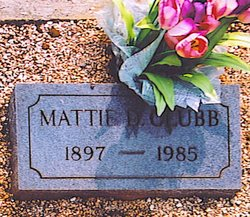 Mattie <i>Dobbs</i> Clubb