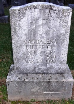 Magdalena <i>Seger</i> Dieterich