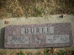 Beulah V Duree