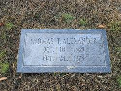 Thomas Taylor Alexander