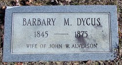 Barbary M. <i>Dycus</i> Alverson