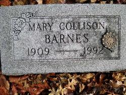 Mary <i>Collison</i> Barnes
