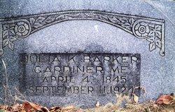 Julia K Barker