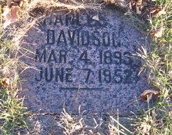 Charles E Davidson
