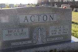 Lela B. <i>Floyd</i> Acton
