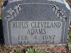 Rufus Cleveland Adams